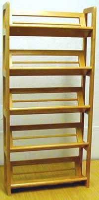 CD/Video Rack 5 Tiers